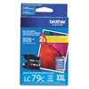 Brother LC79C Genuine Cyan Inkjet Ink Cartridge