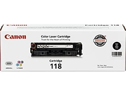 Canon 2662B001AA Genuine Black Toner Cartridge CRG-118