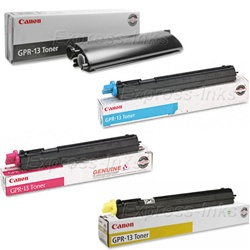Canon GPR-13 4-Pack Genuine Toner Cartridge Combo
