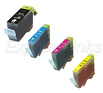 Canon BCI-3/ BCI-3e 4-Pack Inkjet Ink Tank Cartridge Combo