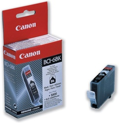 Canon BCI-6Bk Black Ink Cartridge 4705A003