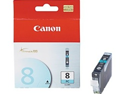 Canon CLI-8PC Genuine Photo Cyan Inkjet Ink Cartridge CLI-8