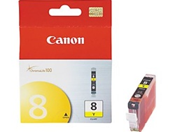 Canon CLI-8Y Yellow Inkjet Cartridge 0623B002AA