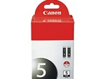 Canon PGI-5BK 2-Pack Black Inkjet Ink Cartridges