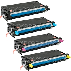 Dell 3130 4-Pack High Yield Compatible Toner Combo