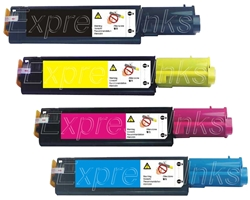 Dell 341-3568-71 4-Pack Compatible Toner Combo