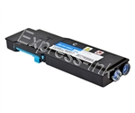 Dell 593-BBBT Compatible Cyan Toner Cartridge TW3NN