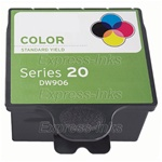 Dell Series 20 Tri-Color Inkjet Ink Cartridge 330-2116