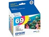 Epson (#69) T069520 Genuine Ink Cartridge Combo