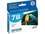 Epson #78 Cyan Genuine Inkjet Ink Cartridge T078220