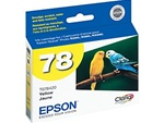 Epson #78 Yellow Genuine Inkjet Ink Cartridge T078420