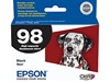 Epson T098120 (#98) Genuine Black Inkjet Ink Cartridge