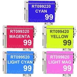 Epson T099920 (#99) Compatible Ink Combo