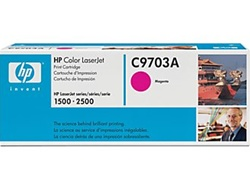 HP Color Laserjet 2500 Magenta Toner Cartridge C9703A