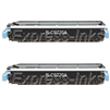 HP C9720AD 2-Pack Black Toner Cartridges
