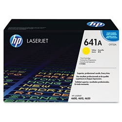HP Color Laserjet 4610 Genuine Yellow Toner Cartridge