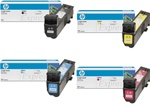 HP CP6015 4-Pack Genuine Toner Cartridge Combo
