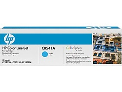HP CB541A Genuine Cyan Toner Cartridge