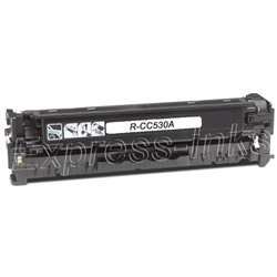 HP CC530A Black Toner Cartridge