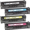 HP Color Laserjet CM2320 4-Pack Toner Cartridge Combo