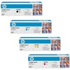 HP CP2025 Genuine Hewlett Packard Toner Cartridge Combo