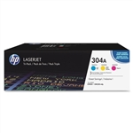 HP CF340A 3-Pack Genuine Toner Cartridge Combo