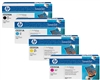 HP Color Laserjet CP3525 4-Pack Toner Cartridge Combo