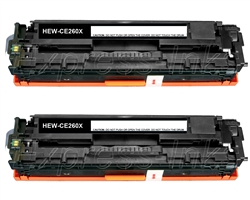 HP CE260XD Compatible Black Toner Cartridge Combo