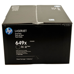 HP CE260XD Genuine Black Toner Cartridge Combo
