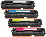 HP CP5525 4-Pack Compatible Toner Combo CE270A-3A