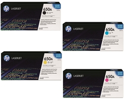 HP CP5525 Genuine Hewlett Packard Toner Combo