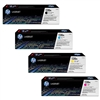 HP CP1525 Genuine Hewlett Packard 128A Toner Combo