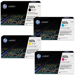 HP M551 4-Pack Genuine Toner Combo CE400X-3A