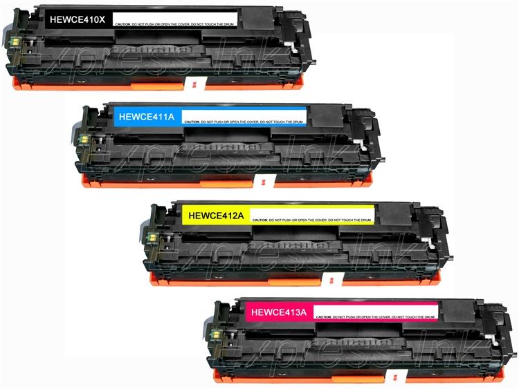 CNY Toner 2 Packs Compatible HP CE741A Toner