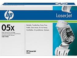 HP CE505X Genuine Toner Cartridge (05X)