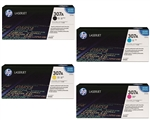 HP CP5225 Genuine Hewlett Packard Toner Combo
