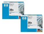 HP Q1338D Genuine Toner Cartridge Combo (Q1338A)