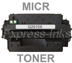HP Q2610X (10X) MICR Toner Cartridge