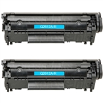 HP Q2612D (12A) 2-Pack Toner Cartridge Combo Q2612A
