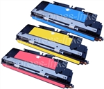HP Color Laserjet 3700 3-Pack Color Combo Toner Cartridges