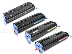 HP Q6000A, Q6001A, Q6002A, Q6003A Toner Cartridge Combo