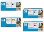 HP Q6000A-3A Genuine Toner Cartridge Combo 124A