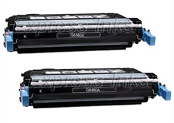HP Q6460A 2-Pack Black Toner Cartridge Combo
