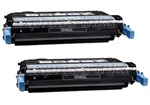 HP Q6460A 2-Pack Toner Cartridge Combo