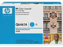 HP Color Laserjet 4730 Genuine Cyan Toner Cartridge