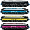HP Color Laserjet 3600 4-Pack Toner Cartridge Combo