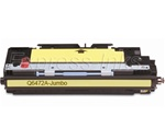 HP Q6472A Jumbo Compatible Yellow Toner 502A