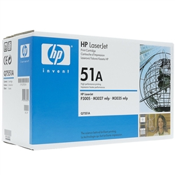 HP Q7551A Genuine Toner Cartridge (51A)