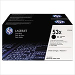 HP Q7553X Twin Toner Cartridge Combo Q7553XD