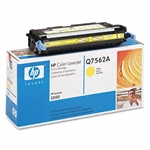 HP Q7562A Genuine Yellow Toner Cartridge 62A